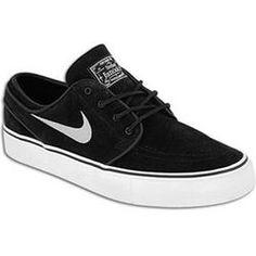 Stefan Janoski Nike SB Janoski - Mens - Black White  77.99 Janoski Shoes 6e7e9121e52