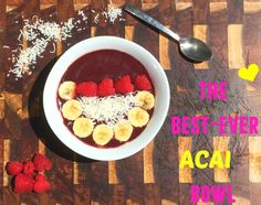 This is my version of thehe best ever acai bowl recipe! Visit my blog to see the recipe www.fattoglam.com #acaibowl #acaibowlrecipe #acai #smoothiebowl