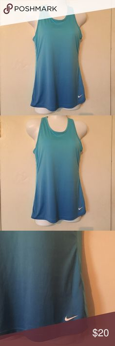 Nike dri fit ombré tank size xl Nike Dri fit ombré top. Great for workout or any occasion size xl Nike Tops