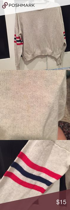 brandy sweater mall stain shown in second pic Brandy Melville Sweaters