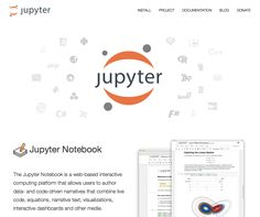The Jupyter Notebook is a web-based interactive computing platform. The notebook combines live code, equations, narrative text, visualizations, interactive dashboards and other media.