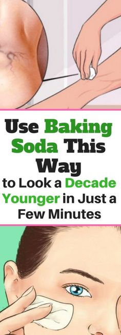 Use Baking Soda, This Way To Look A Decade Younger In Just A Few Minutes!!! -