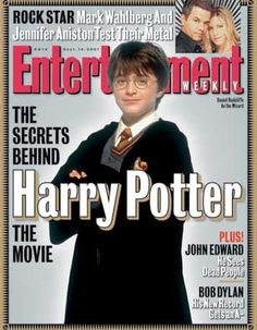 Harry Potter Comes Alive [Entertainment Weekly magazine - Sep 14, 2001]