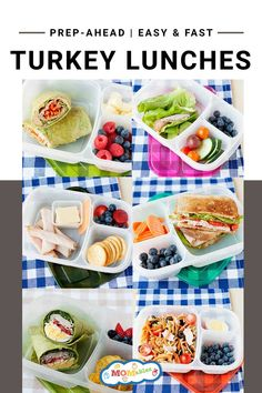 Quick & Easy school lunch ideas with one simple ingredient. Kids love these ideas, plus you can pack them for work too! #schoollunch #lunchideas #lunchbox