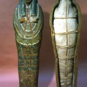 Ancient Egyptians believed that a person's soul would live for eternity through a process known as mummification, according to the Boise Art Museum. Before a body was laid to rest within a sarcophagus, it was wrapped in layers of linen. You can craft a mummy from a Barbie to create a Halloween decoration or to help facilitate learning about...