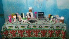 Mesa rica de produtos!!! I9Life Global!!!