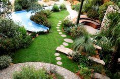 The Australian Garden at Chelsea Flower Show 2011 designed by Jim Fogarty