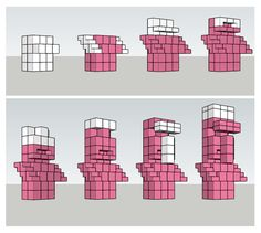 Blueprint (pink) for that statue everyone likes. – Minecraft - Blueprint (pink) for that statue everyone likes. Château Minecraft, Minecraft Server, Construction Minecraft, Minecraft Building Guide, Minecraft Statues, Minecraft Structures, Amazing Minecraft, Minecraft Tutorial, Minecraft Crafts