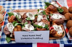 Rare Roast Beef Yorkshire Pudding by Andy Bates from Street Feasts