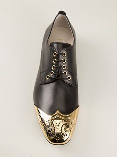 VERSACE - bi-colour brogue 8