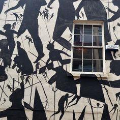 Murals of David de la Mano & Edition Fifty print #streetart jd