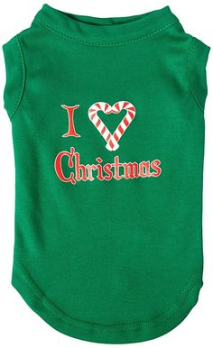 Mirage Pet Products 12-Inch I Heart Christmas Screen Print Shirts for Pets, Medium, Emerald Green >>> You can get more details by clicking on the image. (This is an affiliate link and I receive a commission for the sales)