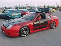 Prelude roof cut