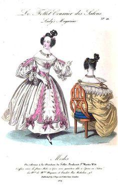 The Lady's Magazine, November 1834.