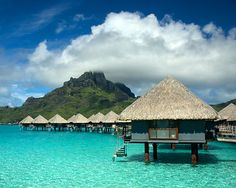 Bora Bora would be a great relaxation destination!