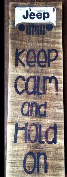 Keep Calm Jeep