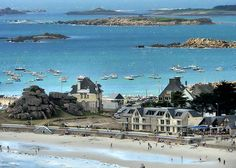 Surrounded by water ~ Trebeurden, Brittany - France