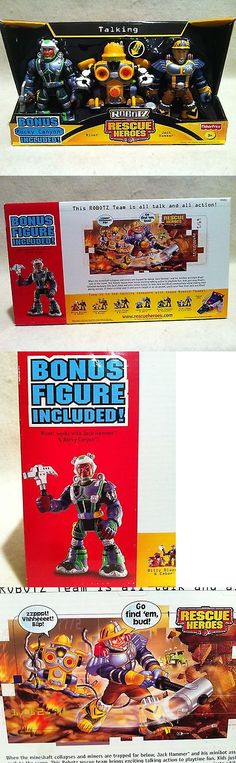 Rescue Heroes 50307: Rescue Heroes Robotz Jack Hammer And Rivet And Bonus Rocky Canyon Setfactory Sealed! -> BUY IT NOW ONLY: $79.99 on eBay!