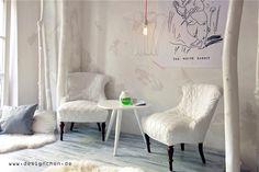+++ White Rabbits Room – Cafe, Kitchen & Store in München... via Designchen, ©Fotos Susanne Perk-Kuhlmann