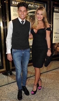 Sam Faiers with her boyfriend Joey Essex