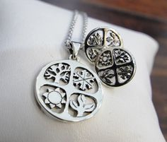 James Avery Four Seasons Necklace, Pendant, and  Earrings! Find them on our Ebay Site: http://tinyurl.com/q4rfuwc #JamesAvery #SterlingSilver