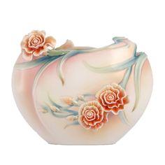 Franz Porcelain Vase - Carnation flat vase FZ00656.jpg Source: www.franzcollection.com