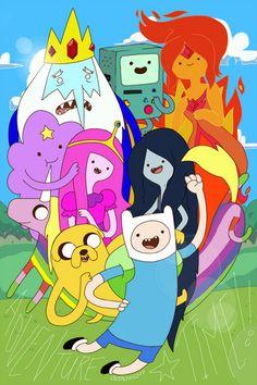 Adventure time ^-^  hora de aventuras