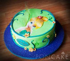 Tinkerbell Cake - Torta de Campanita