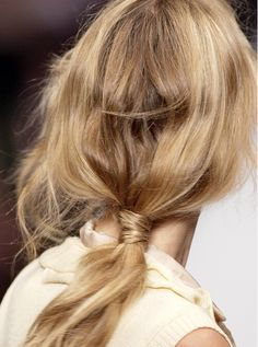 nice 6 New Hairstyle Ideas Only for Long Healthy Hair , These 6 Hairstyle Ideas are Only for Long Healthy Hair. But long healthy hair is my dream that never came true hahaha so I. Loose Hairstyles, Ponytail Hairstyles, Pretty Hairstyles, Hairstyle Ideas, Spring Hairstyles, Cara Delevigne, Blonde Ponytail, Messy Ponytail, Knot Ponytail