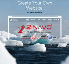 #Create website for your own business in own hand. #zinavo(www.zinavo.com)