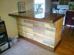 Upcycled work top