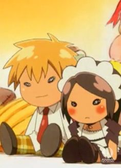 Maid-Sama, Usui and Misaki