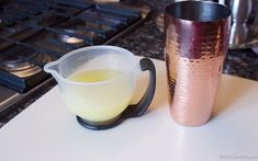 The simple syrup made all the difference in the Alcohol Drink Recipes, Martini Recipes, Vodka Drinks, Smoothie Drinks, Bar Drinks, Cocktail Drinks, Alcoholic Drinks, Cocktail Recipes, Pineapple Lemonade
