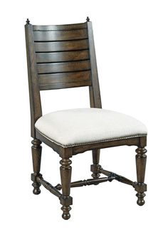 Armless dining chair from the Berwick Court collection by Kincaid. New for #hpmkt Spring 2015.
