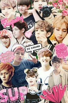 Resultado de imagem para kpop collage