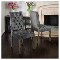 Saltillo Velvet Dining Chair (Set of 2) - Christopher Knight Home : Target