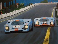 Pedro Rodriguez / Jackie Oliver, Jo Siffert / Derek Bell, Porsche 917, World Championship of Makes, Spa 1971