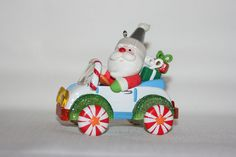 Hallmark Ornaments - Santa's Sweet Ride Series