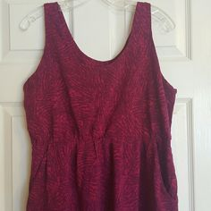 Mossimo dress Has pockets. Pretty and vibrant purple and pink colors Mossimo Supply Co Dresses
