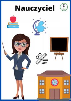 Community Workers, Community Helpers, Teacher Cartoon, Family Guy, People, Character, People Illustration, Lettering, Folk