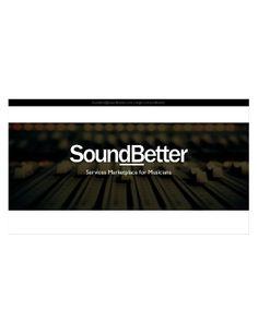 SoundBetter by 500 Startups via slideshare