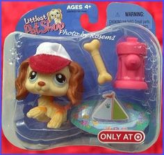 2006 Littlest PET Shop Target Exclusive NO Cream Cocker Spaniel Fire Hydrant Lps Littlest Pet Shop, Little Pet Shop Toys, Little Pets, Sailor Moon Locket, Lps Sets, Cute Toys, Toy Craft, Happy Animals, Childhood Toys