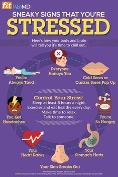 How Can You Tell That You're Too Stressed?