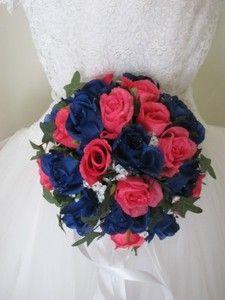 Royal Blue & Hot Pink