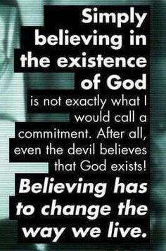 Even the devil believes in God! 👌 Kh