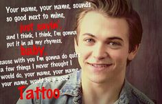 """Hunter Hayes ~ Tattoo Been OBSESSED with this song lately! This song has been my most fave song in """"Storyline"""" :D"""