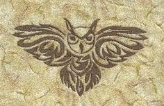Elizabeth embroideries awesome owl