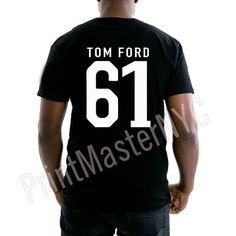 Black T. Ford Tee For Men by PrintMasterNYC on Etsy