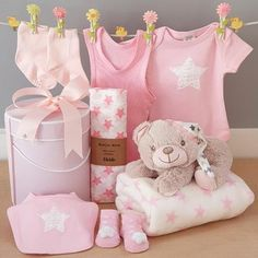 Our new sleepy teddy bear baby girl hamper will make the perfect new baby girl gift. This gorgeous hat box is filled with all the things a new bvaby girl will need. New Baby Girls, Baby Girl Gifts, Teddy Toys, Teddy Bear, Sleepy Bear, Have A Good Night, Cute Stars, Soft Baby Blankets, Gift Hampers