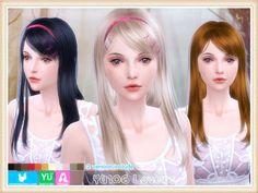 Quà tết: Tổng hợp tóc đẹp Newsea Donate The Sims 4 | Yên Thảo Blog